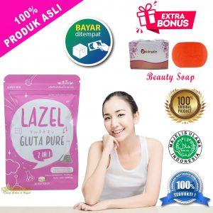 Lazel Gluta Pure Original Suplemen Whitening Import Gratis ...